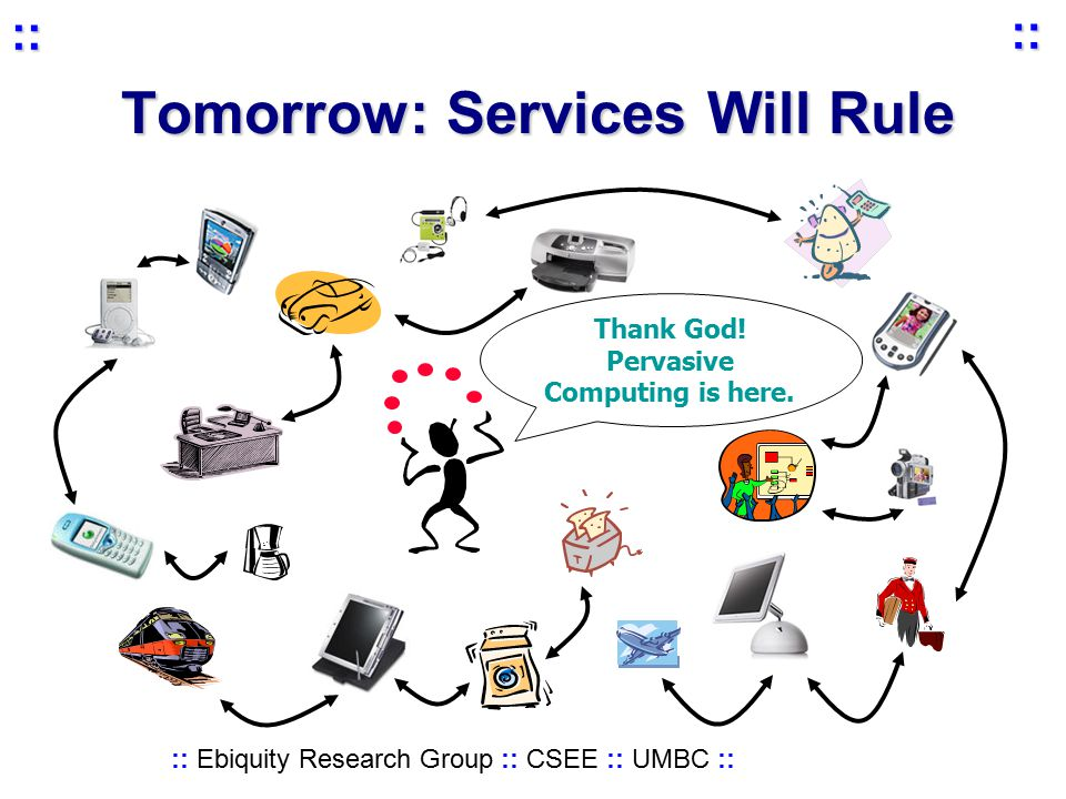 :: Ebiquity Research Group :: CSEE :: UMBC :: :: :: Tomorrow: Services Will Rule Thank God.
