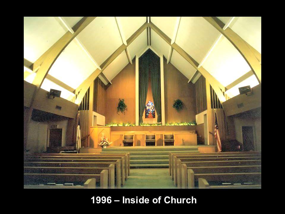 1996 – Inside of Church