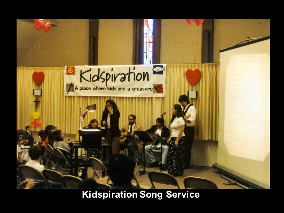 Kidspiration Song Service