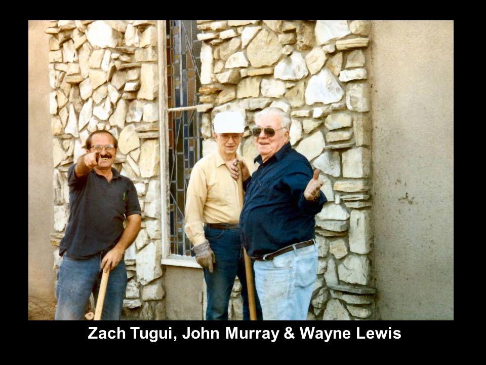 Zach Tugui, John Murray & Wayne Lewis