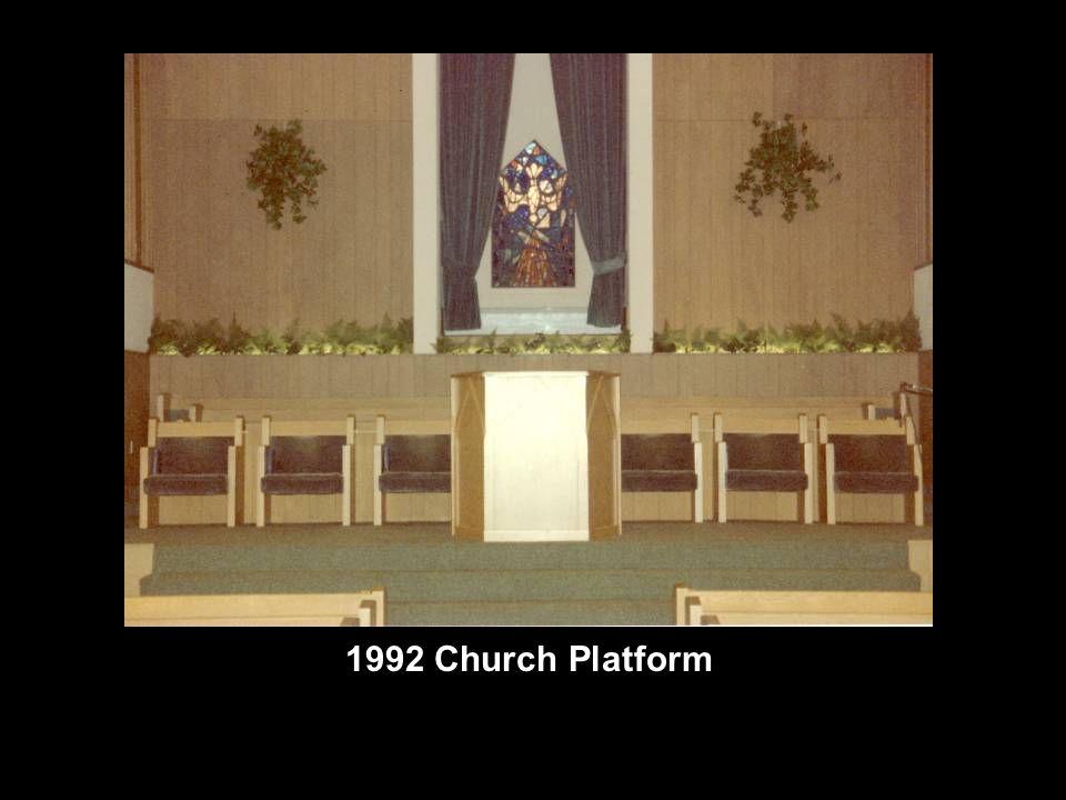1992 Church Platform