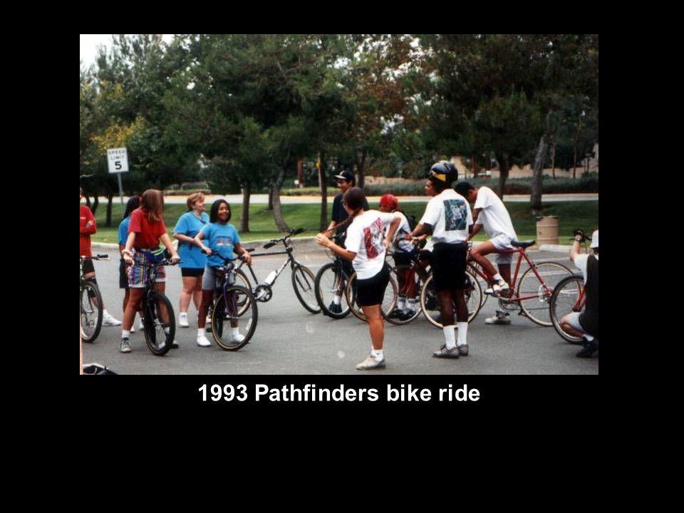 1993 Pathfinders bike ride