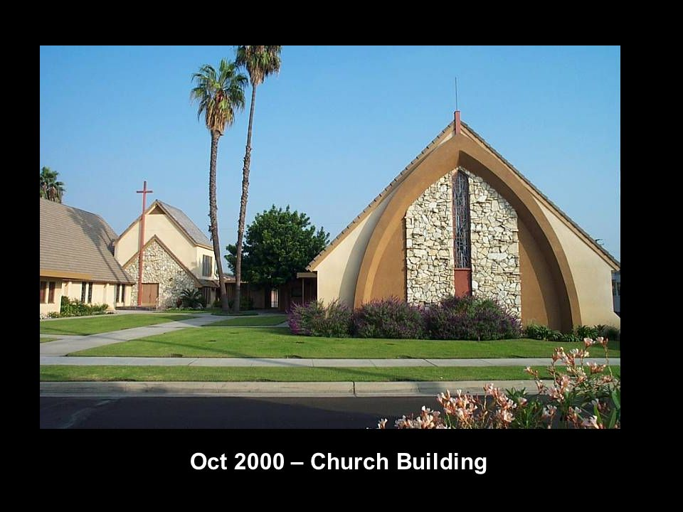 Oct 2000 – Church Building