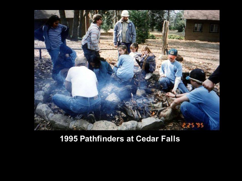 1995 Pathfinders at Cedar Falls