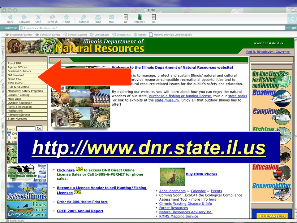 http://www.dnr.state.il.us