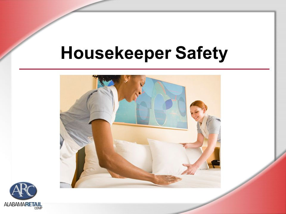 Housekeeper Safety