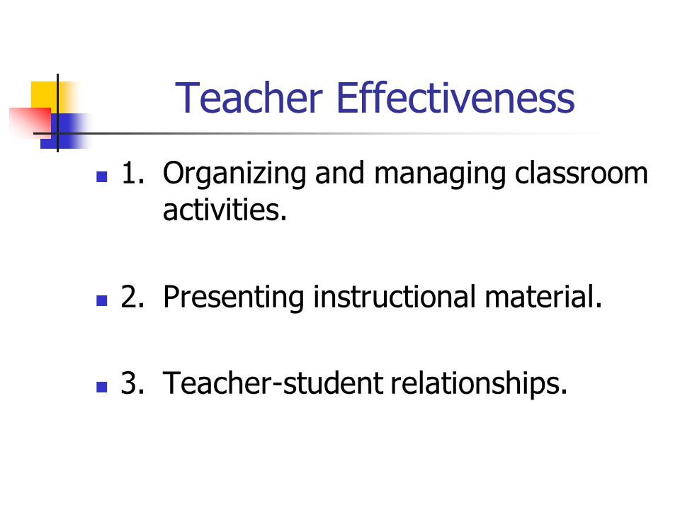 14) Planning Your Time Students are first, class time should not be utilized for planning.