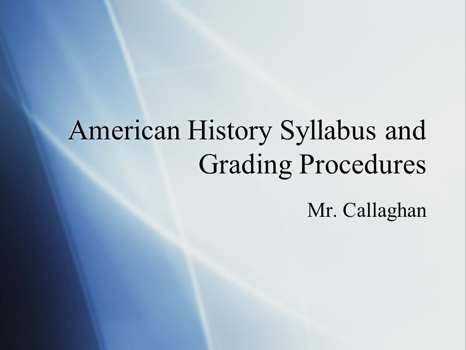 Course Description  In American History, we will explore the growth and development of the U.S.