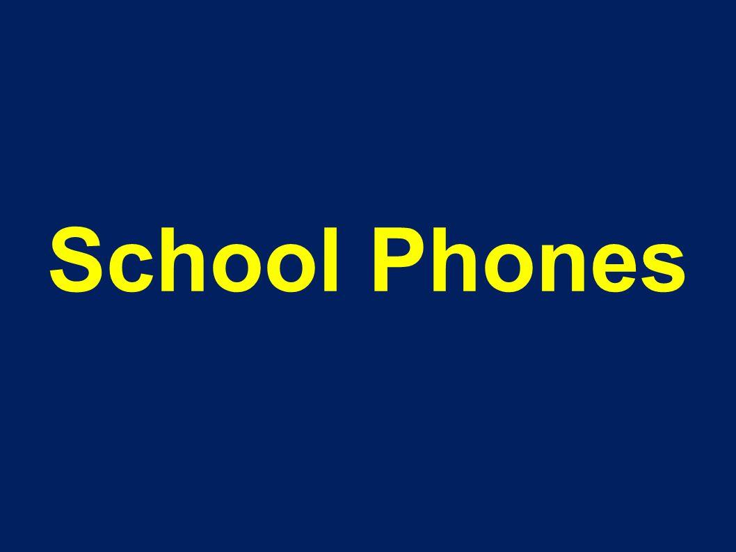 School Phones