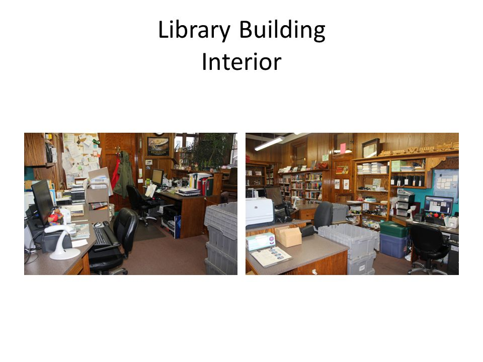 Library Building Interior