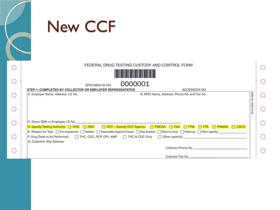 New CCF
