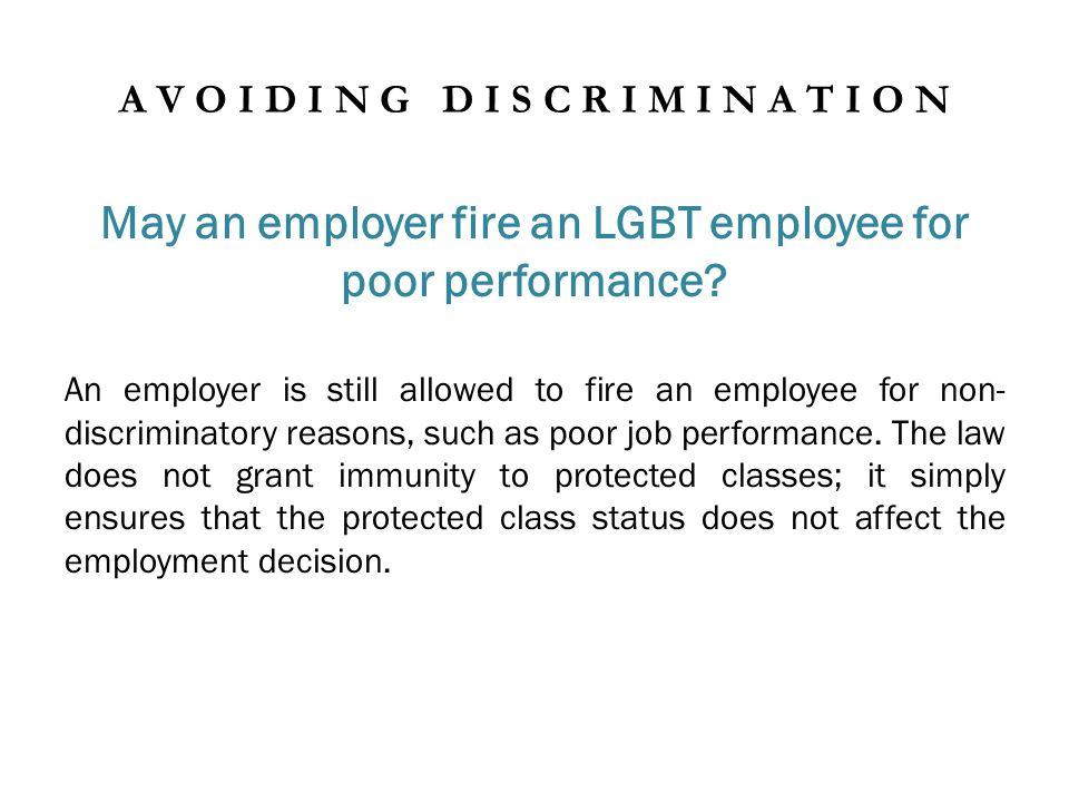Must an employer provide benefits to an LGBT employee.