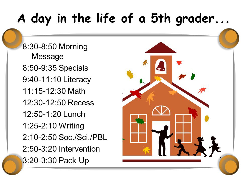  After a beginning of the year assessment we will begin Math classes on Wednesday.