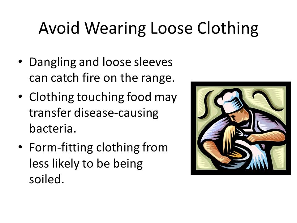 Remove Bulky Clothing Remove coats and/or oversized sweatshirts and hats.