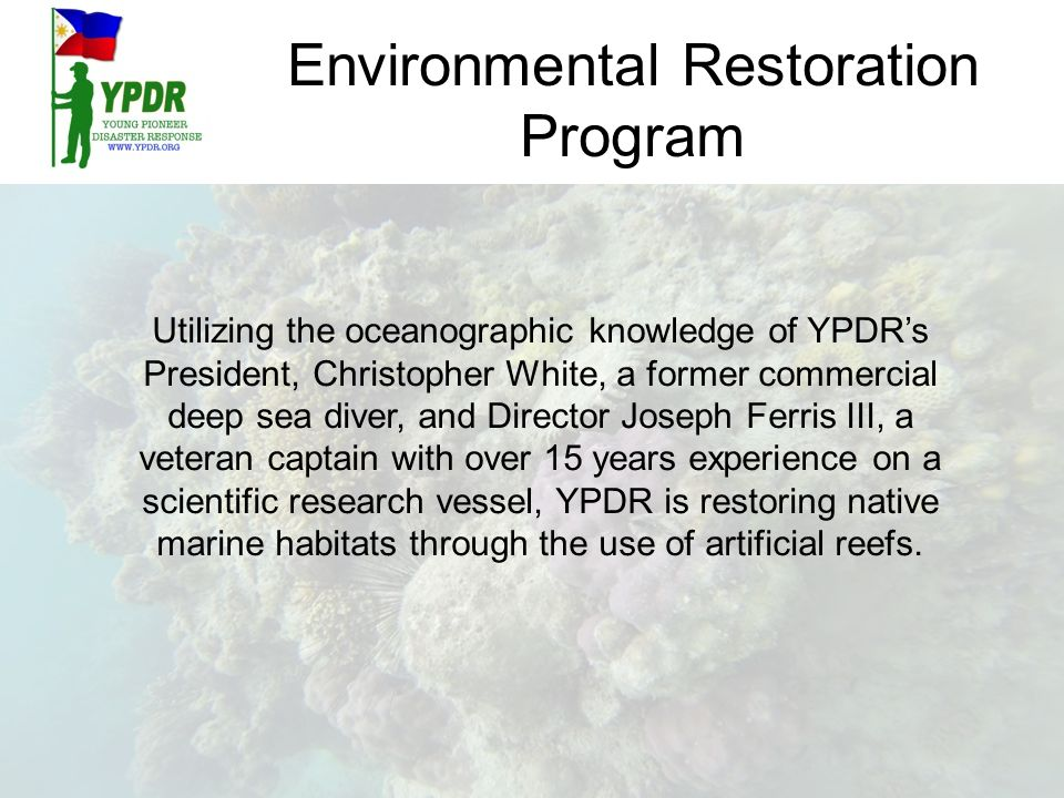 Environmental Restoration Program