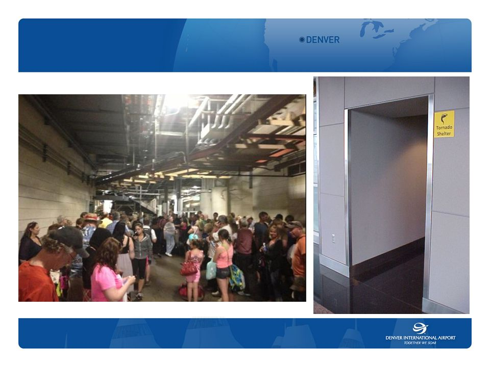 Activate Plan – cont'd ‒ Shutdown access to affected locations such as internal people mover systems, elevators and moving walkways, and roadways ‒ Activate Irregular Operations Plan / Aircraft Diversion Plan in coordination with the FAA Control Tower ‒ Activate Stranded Passenger Plan – hotel information ‒ Coordinate with Concessionaires ‒ Provide information re: status of the emergency as related to shutting down the operation, and sheltering employees and customers 17