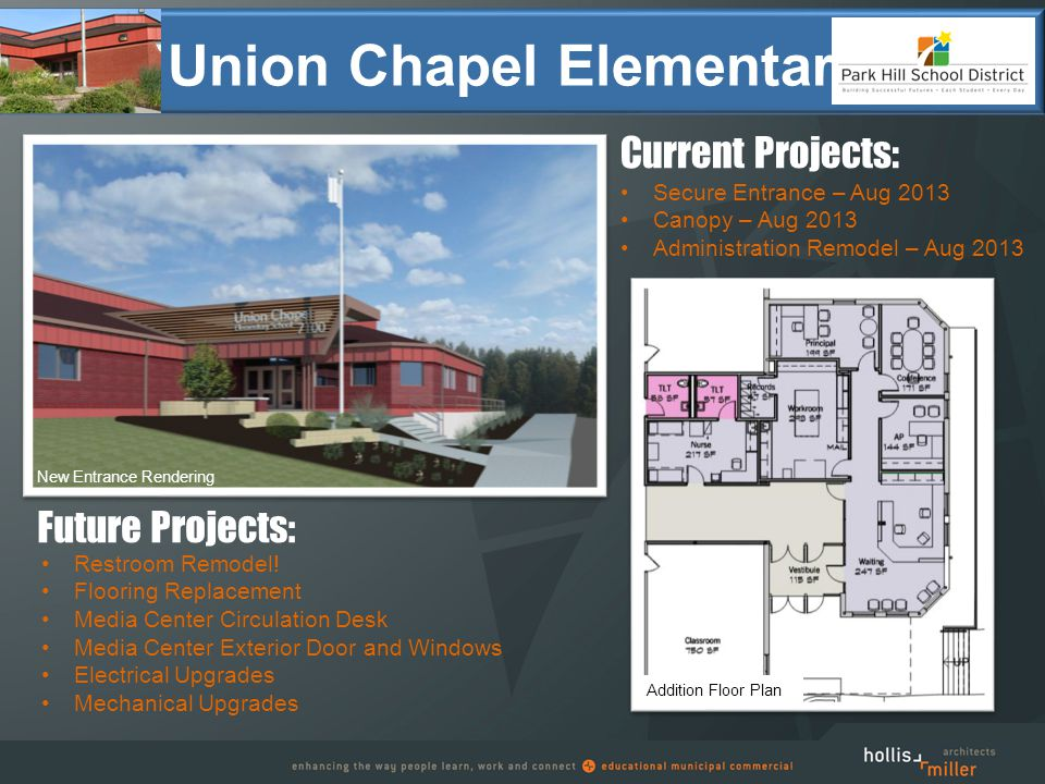 Union Chapel Elementary Restroom Remodel.