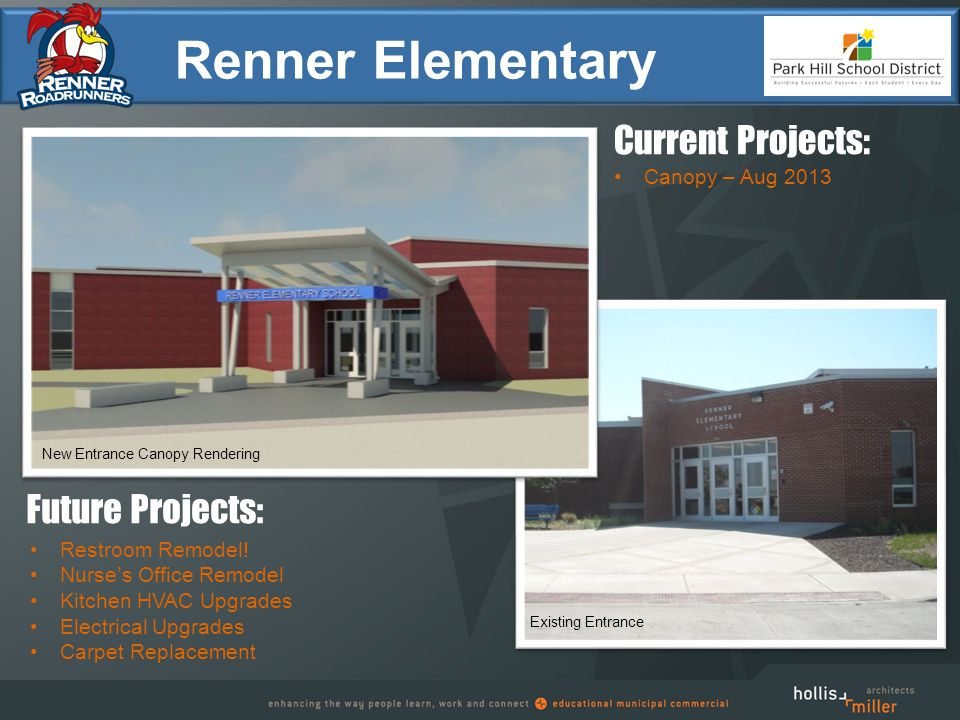 NW Old Tiffany Springs Road Renner Elementary Restroom Remodel.