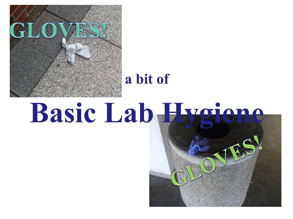 a bit of Basic Lab Hygiene