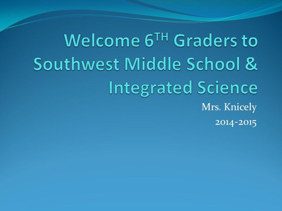 Mrs. Knicely 2014-2015