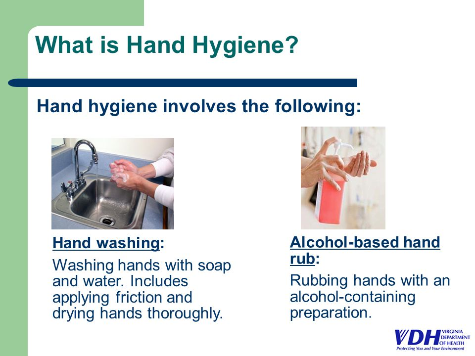 What is Hand Hygiene.