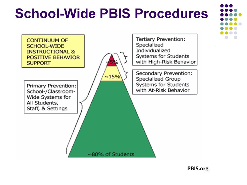 School-Wide PBIS Procedures PBIS.org