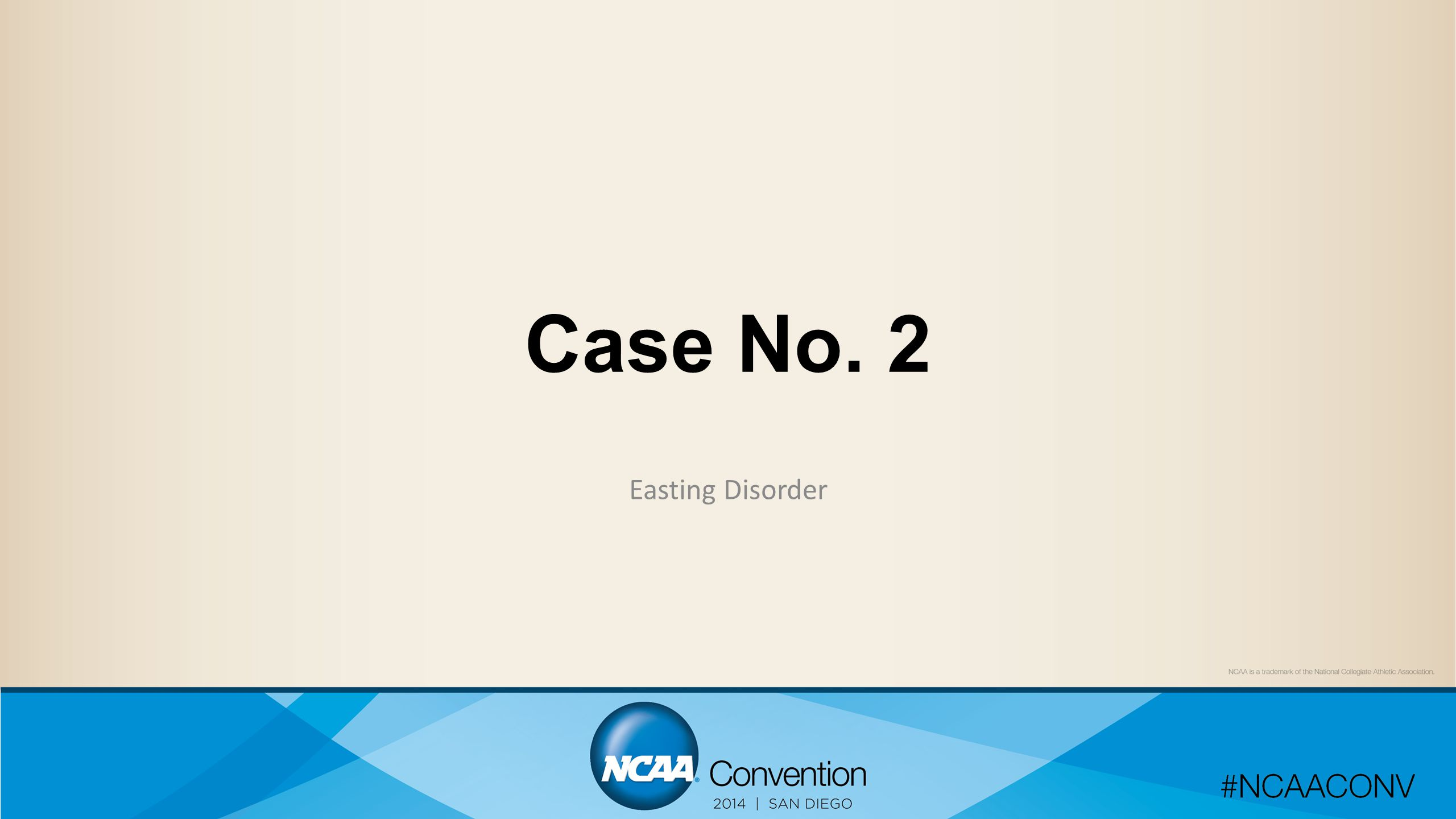 Case No. 2 Easting Disorder