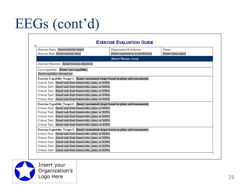 EEGs (cont'd) 29