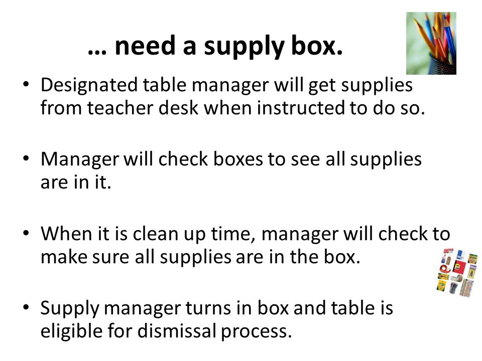 Check to see if there is an If you're done… assignment on your table instructions.