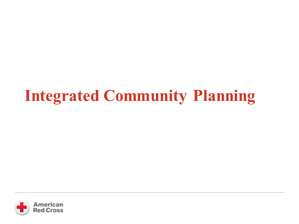 Integrated Community Planning
