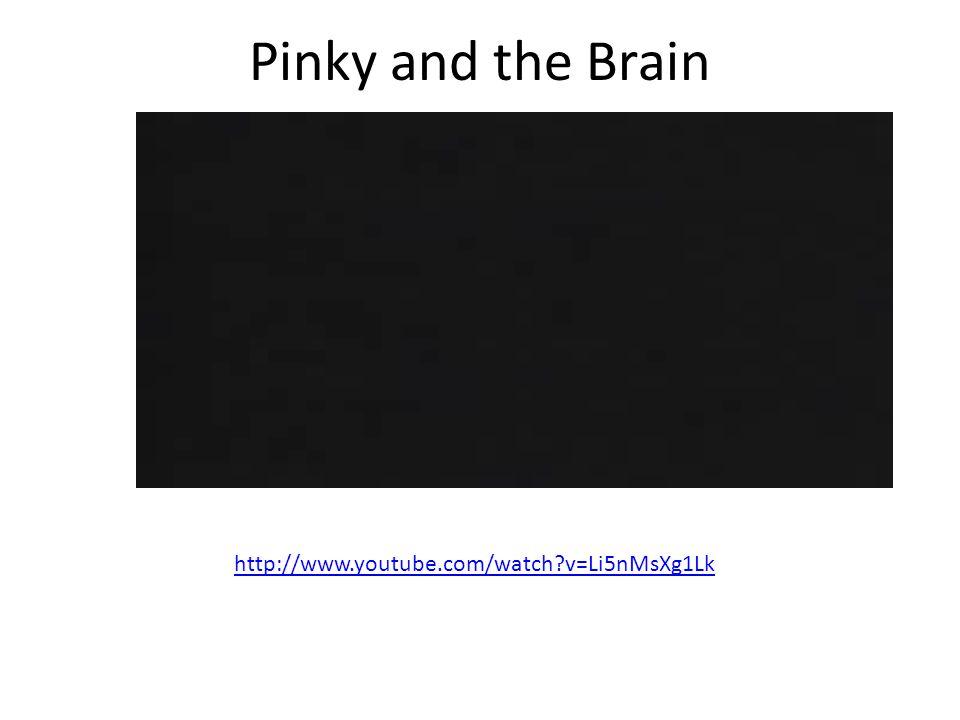 Pinky and the Brain http://www.youtube.com/watch?v=Li5nMsXg1Lk