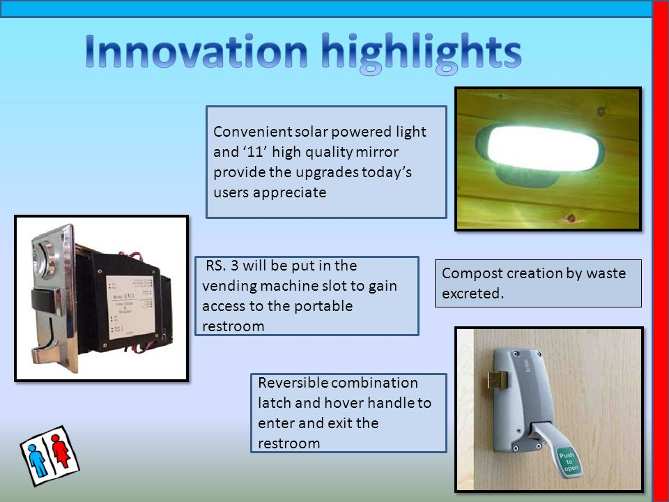 Convenient solar powered light and '11' high quality mirror provide the upgrades today's users appreciate RS.