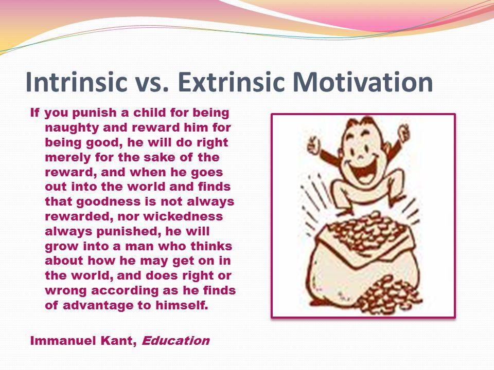 Intrinsic vs.