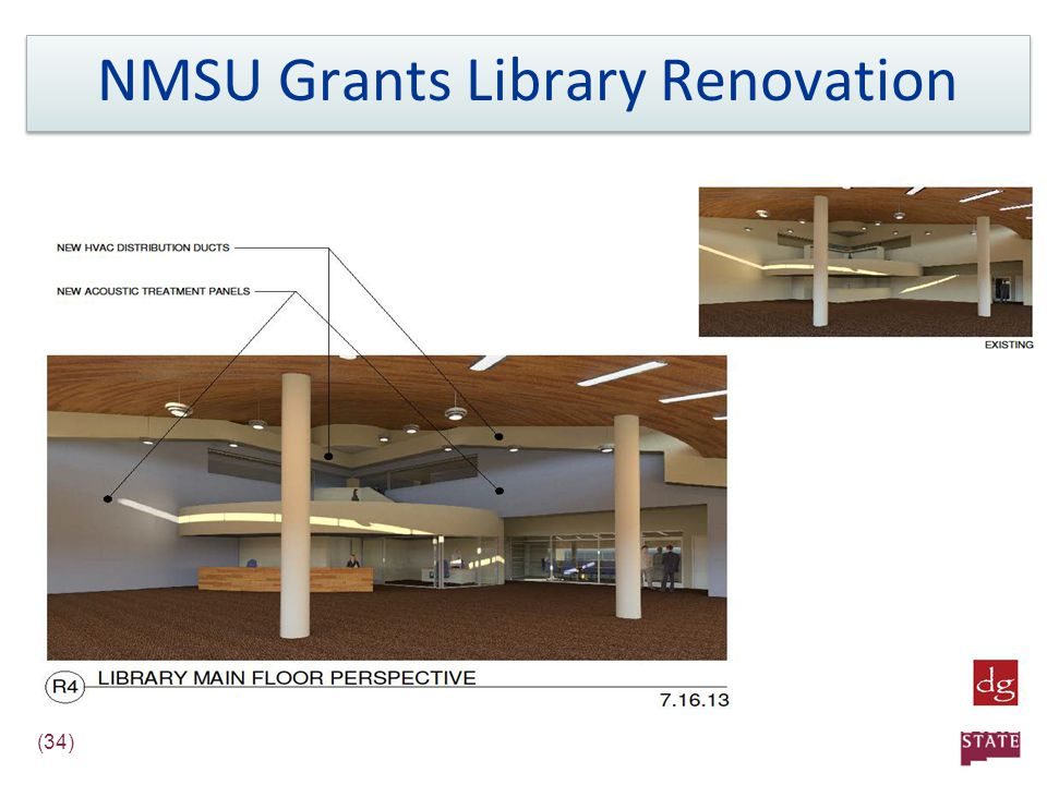 (34) NMSU Grants Library Renovation