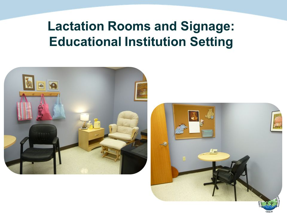 Lactation Rooms and Signage: Educational Institution Setting