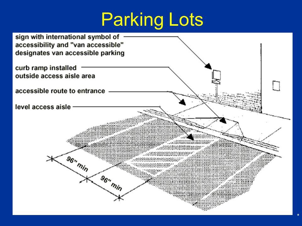 * Parking Lots