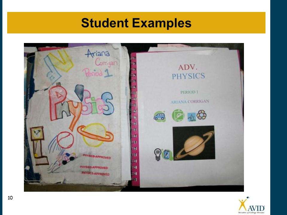 Student Examples 10