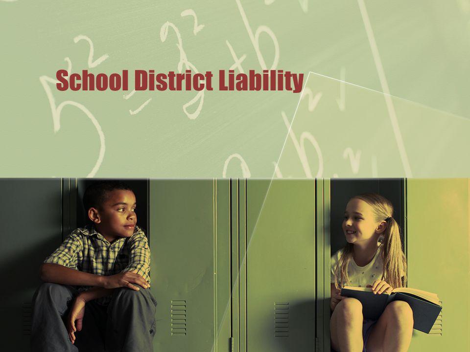 School District Liability
