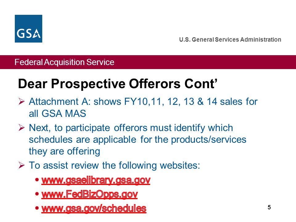Federal Acquisition Service U.S. General Services Administration Attachment B: FedBizOps.gov 46