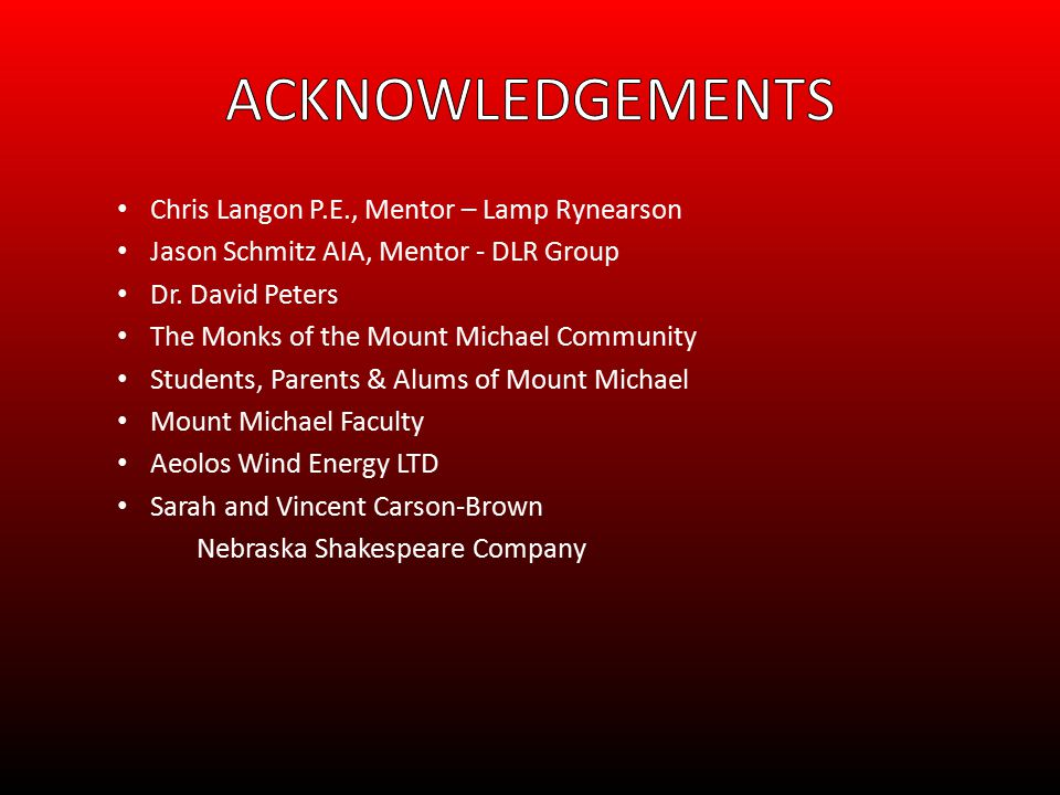 Chris Langon P.E., Mentor – Lamp Rynearson Jason Schmitz AIA, Mentor - DLR Group Dr.