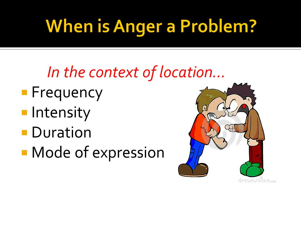 In the context of location…  Frequency  Intensity  Duration  Mode of expression