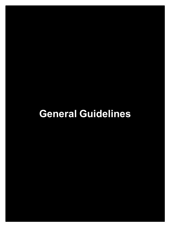 General Guidelines - Contents General Guidelines Contents CommunicationsPage 11 Control of Patient Care: Physician On ScenePage 12 Crime ScenePage 13 Destination DecisionsPage 14 DocumentationPage 15 Emergency Vehicle OperationsPage 16 Handling Patient's Personal PropertyPages 17-18 Safe Transport of Pediatric PatientsPage 19 Patients with Special Healthcare NeedsPage 20 Suspected AbusePages 21-23 Patient Initiated Refusal of CarePage 24 Withholding or Termination of ResuscitationPage 25 10 > Emergency Medical Services EMS Medical Director: EMS Director: Effective Date: