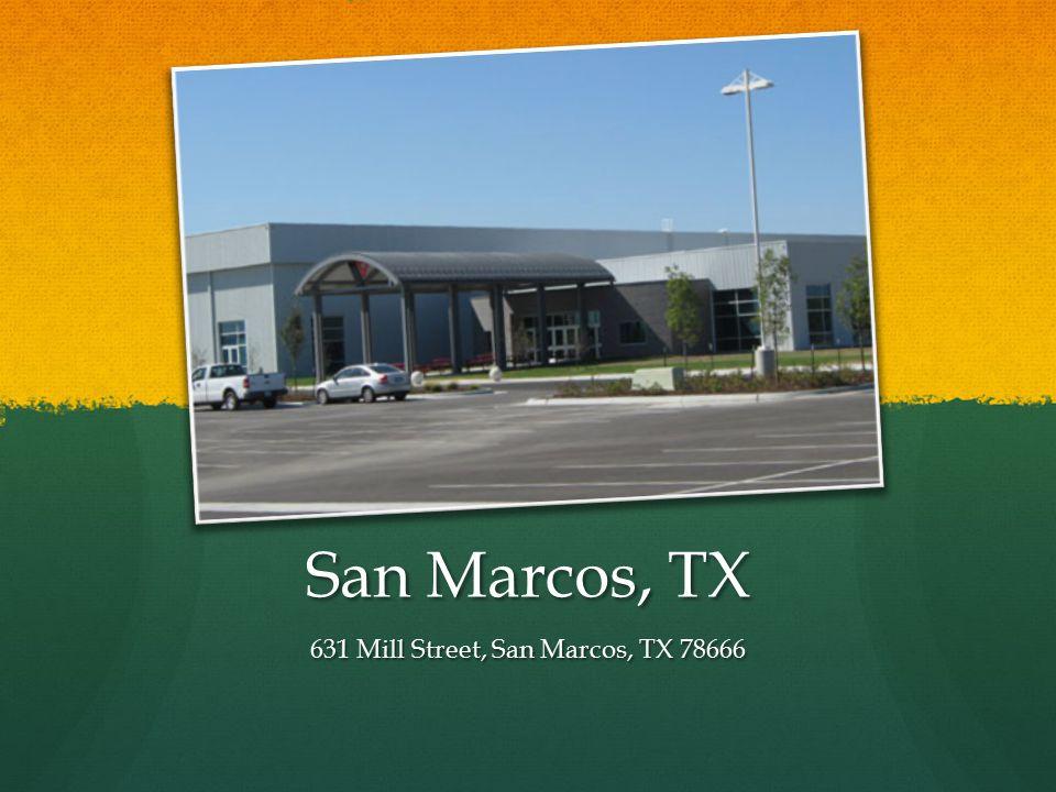 San Marcos, TX 631 Mill Street, San Marcos, TX 78666