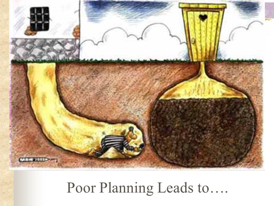 Poor Planning Leads to….