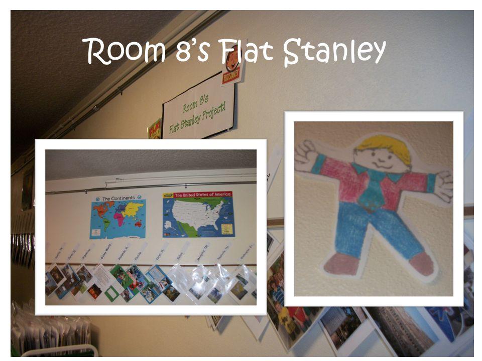 Flat Stanley Room 8's Flat Stanley