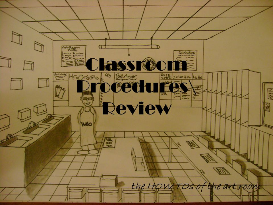 Why you need to know the classroom procedures.For safety.