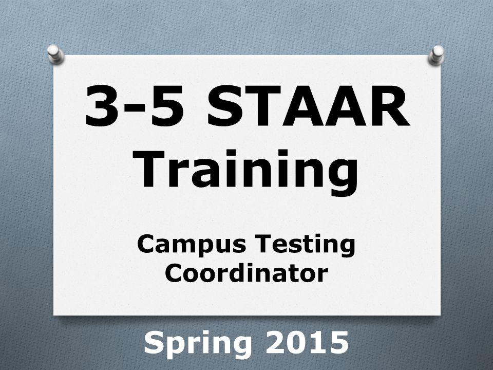 2015 NISD 3-5 STAAR Training 2