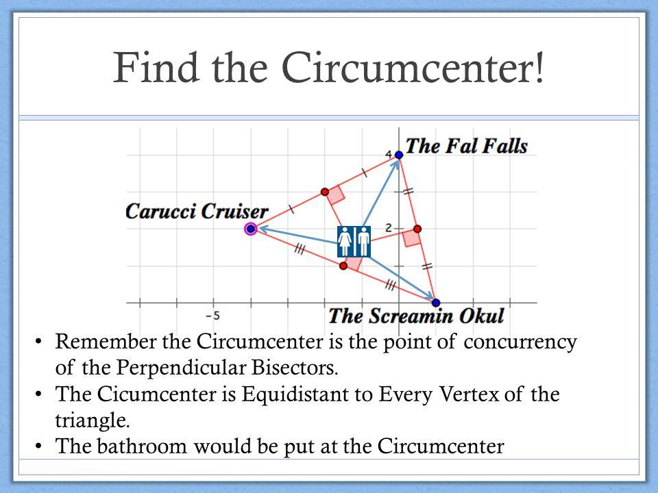 Find the Circumcenter.