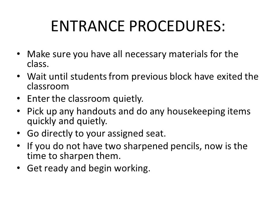 PERSONAL ELECTRONICS USAGE: Students are urged not to bring radios, CD players, I-pods, and toys to classroom.