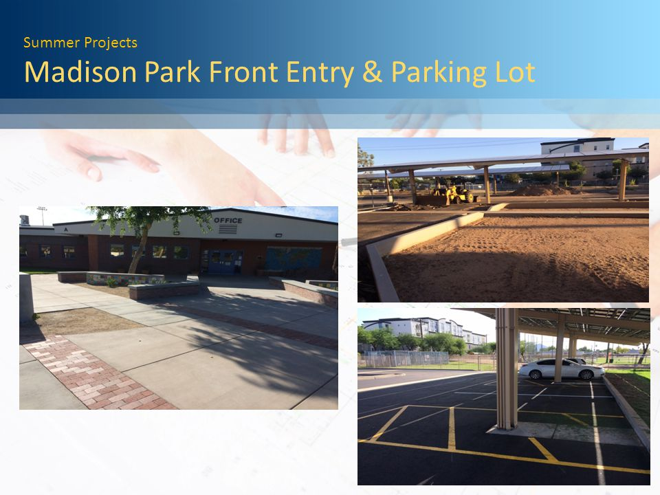 Summer Projects Madison Park Exterior Lighting Replacement